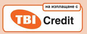 на изплащане с TBI Credit