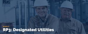 RP3 Designated Utilities
