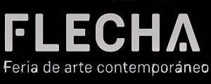 logo flecha arte contemporaneo xisco fuster blanco