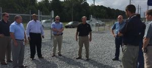 Greenville welcomes visitors to open house for distributed generation installation