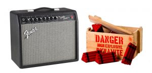 Guitar Amp Exploding