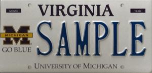 Virginia plate