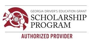 Georgia Driver's Education Grant Scholarship Program Authorized Provider Logo