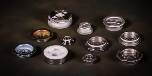 Stainless steel drum and container closures