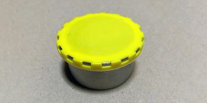 Yellow Beer Keg Caps