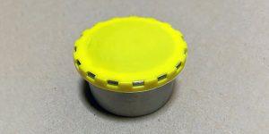 Yellow Beer Keg Caps