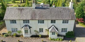 Drone photography of property
