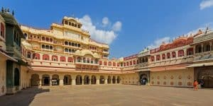 Center Hall in the City Palace of Jaipur City