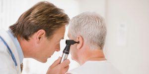 ear examination for vertigo