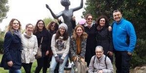 טיול לחיפה - גן הפסלים של אורסולה