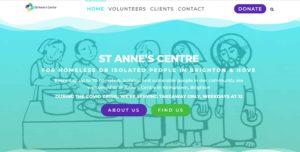 Award Winning Charity Website