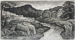 The Sheep of His Pasture by Edward Calvert