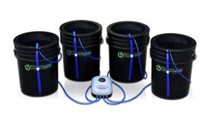 Deep Water Culture (DWC) Hydroponic Bubbler Bucket Kit by PowerGrow ® Systems