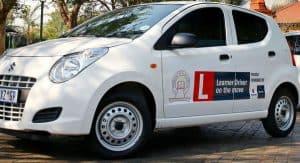 Learner driver car