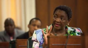Minister of Social Development Bathabile Dlamini apperars before Parliament's standing committee on public accounts (SCOPA) in the Old Assembly in Parliament. Dlamini was asked before SCOPA to discuss social grants