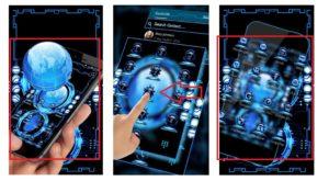 """Тема """"Технология Blue 3D Theme"""""""