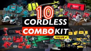 10 Best Cordless Power Tool Combo Kits