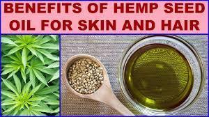 Hemp seed for skin