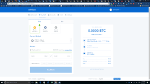 Coinbase Purchase