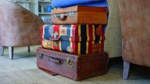 luggage, bags, suitcase
