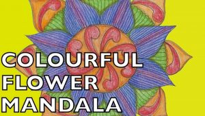How to Draw Mandala Flower Pattern