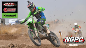 cover photo with jp alvarez on his kx250 at 2020 idaho ngpc