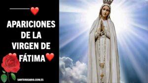 Apariciones de la Virgen de Fatima