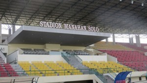 Photo Caption: Manahan Solo Stadium in Surakarta, Central Java.