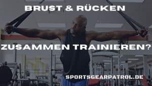 Bild Brust Rücken trainieren
