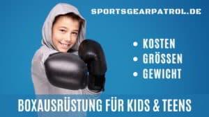 Kinder Boxhandschuhe
