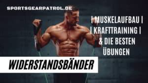 Widerstandsbänder Muskelaufbau Krafttraining