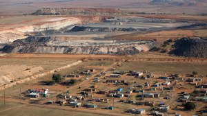 A mining community in Mpumalanga living close to mining operations