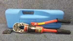 IZUMI 手動油圧式圧着工具