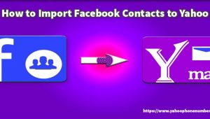 Import Facebook Contacts to Yahoo