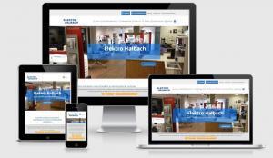 Elektro Halbach Wuppertal Wordpress Webdesign mit Responsive für mobile Benutzerfreudlichkeit