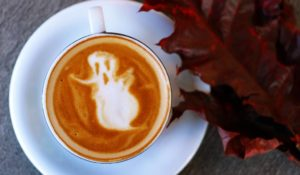 Ghost in a coffee