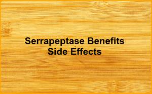 Image Serrapeptase side effects