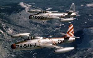 Republic F-84 Thunderjet - flyvere.dk