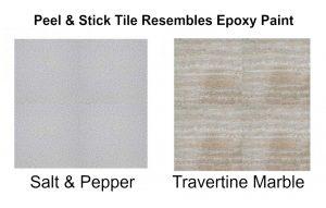 garage floor tile-epoxy look