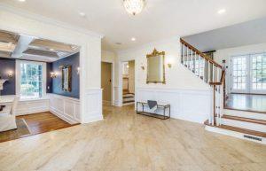 Rye NY home addition interior shown