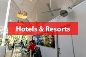 Airius Fans For Hotels and Resorts
