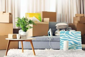 Self storage for house move