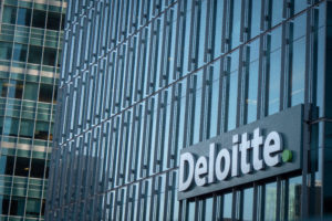 deloitte bitcoin payments lunch