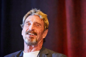 John Mcafee launches DEX