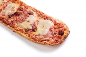 Pizza bacon con dátiles y queso raclette | di Paolo