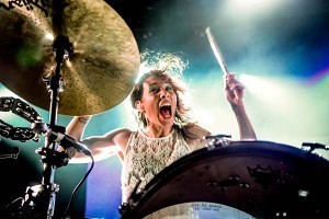 Girl Female Drummer