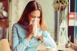 Первые признаки аллергии