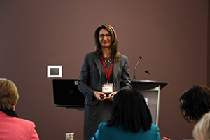 Diane Locke talking about Talent Management at the 2015 Workplace in Motion Summit
