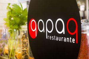 Logotipo restaurante qapaq
