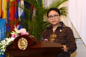 Foreign Affairs Minister Retno Marsudi